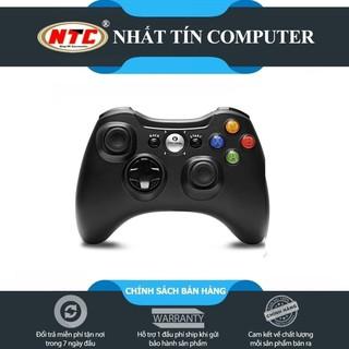 Tay cầm chơi game bluetooth VINYSON VA-005 hỗ trợ PC ANDROID IOS (Đen) thumbnail