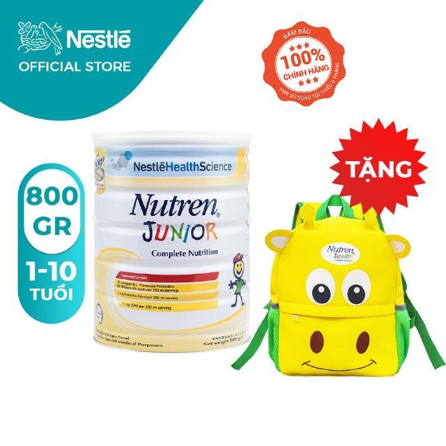 """[Tặng 01 Balo Con Hươu] Sữa bột Nutren Junior 800g giá chỉ còn <strong class=""""price"""">49.900.000.000đ</strong>"""