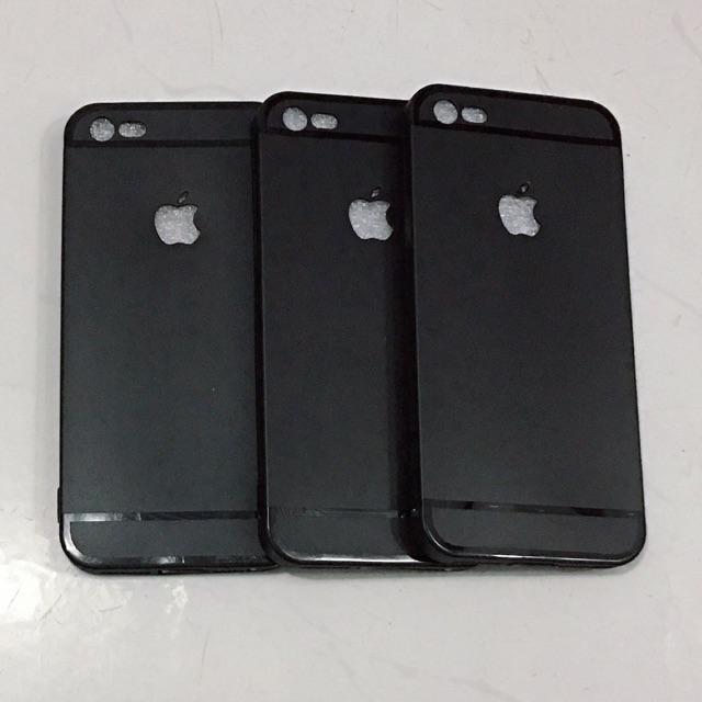 Combo: 2 ôp iphone 5, 5s, 5SE dẻo đen