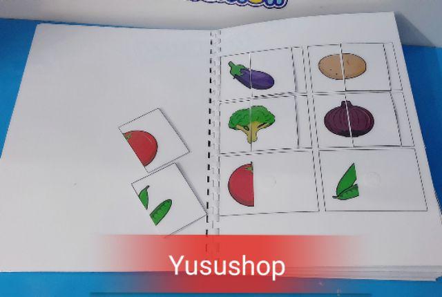 Yusushop - SET HỌC LIỆU TÌM MỘT NỬA CÒN LẠI