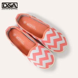 Giày trẻ em D&A EP G1944 kẻ hồng nhạt thumbnail
