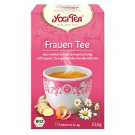 Trà Yogi Frauen Tee gừng và hoa cúc