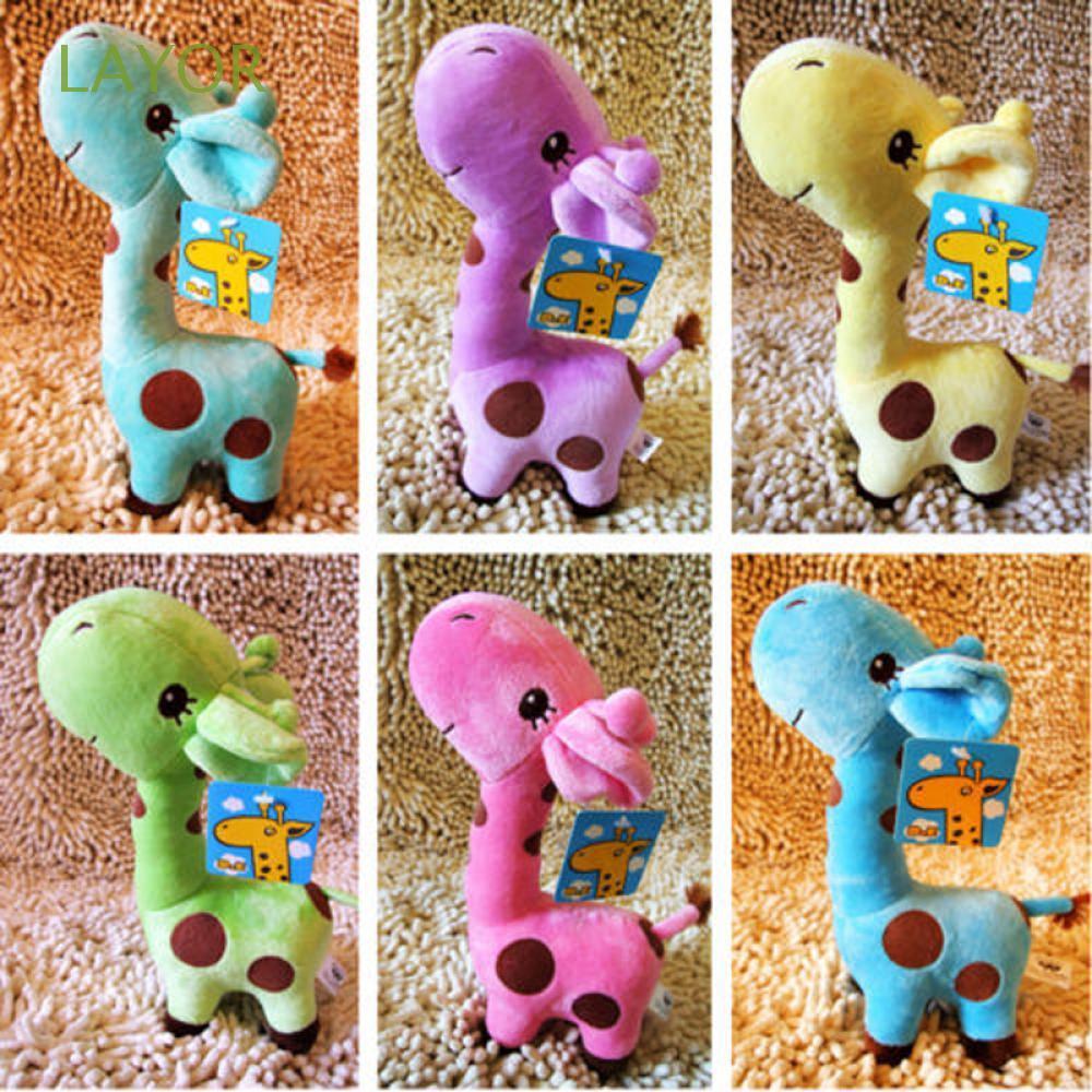 LAYOR Cute Fashion Wedding Birthday Gift Children 18cm Plush Giraffe