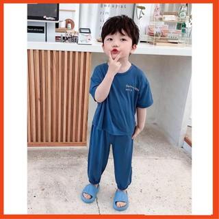 Bộ Cộc Tay Cho Bé 💖FREE SHIP💖 Bộ Minky Mom Cộc Tay Chất Thun Lạnh siêu mềm mịn thoáng mát @ !