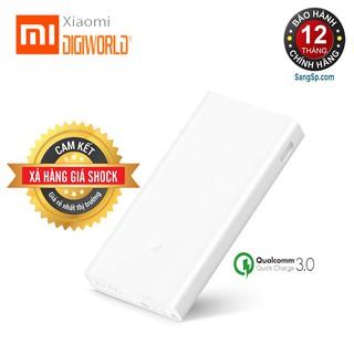 Pin Sạc Dự Phòng Xiaomi Mi 2C 20000mAh 2 Cổng USB Tích Hợp QC 3.0 – Hãng phân phối chính thức (Digiworld)