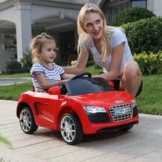 Xe Ô Tô Điện Trẻ Em MODEL FEY-5189, Có Điều Khiển, Màu Xanh, Hồng, Đỏ, Trắng
