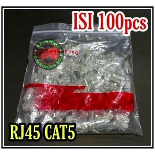 100 Đầu Nối Lan Rj45 Cat5