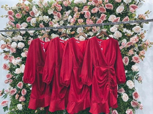 Mặc gì đẹp: Sang chảnh với ✅FREESHIP-MẶC LÀ XINH✅ ĐẦM DỰ TIỆC ĐUÔI CÁ RÚT DÂY BÊN HÔNG 👉HÀNG CHUẨN LOẠI 1👈 Đầm Tay Dài Dự Tiệc Sang Trọng 2020