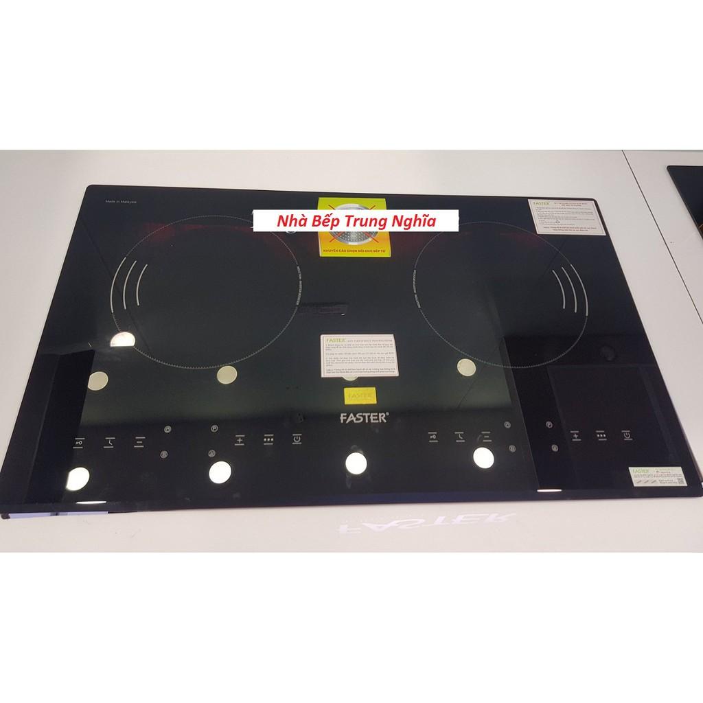 Bếp điện từ Faster FS 688HI, bếp điện từ đôi, bếp từ hồng ngoại, bếp hỗn hợp điện từ, bếp điện từ giá rẻ