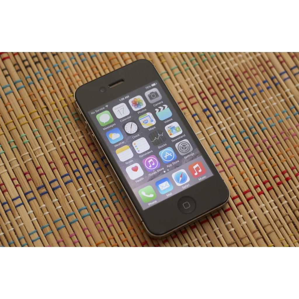 Điện thoại iphone 4s quốc tế lắp được sim