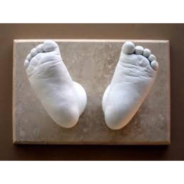 Combo bột lấy dấu và thạch cao đúc tượng chân/ tay, Hàng nhập khẩu an toàn c