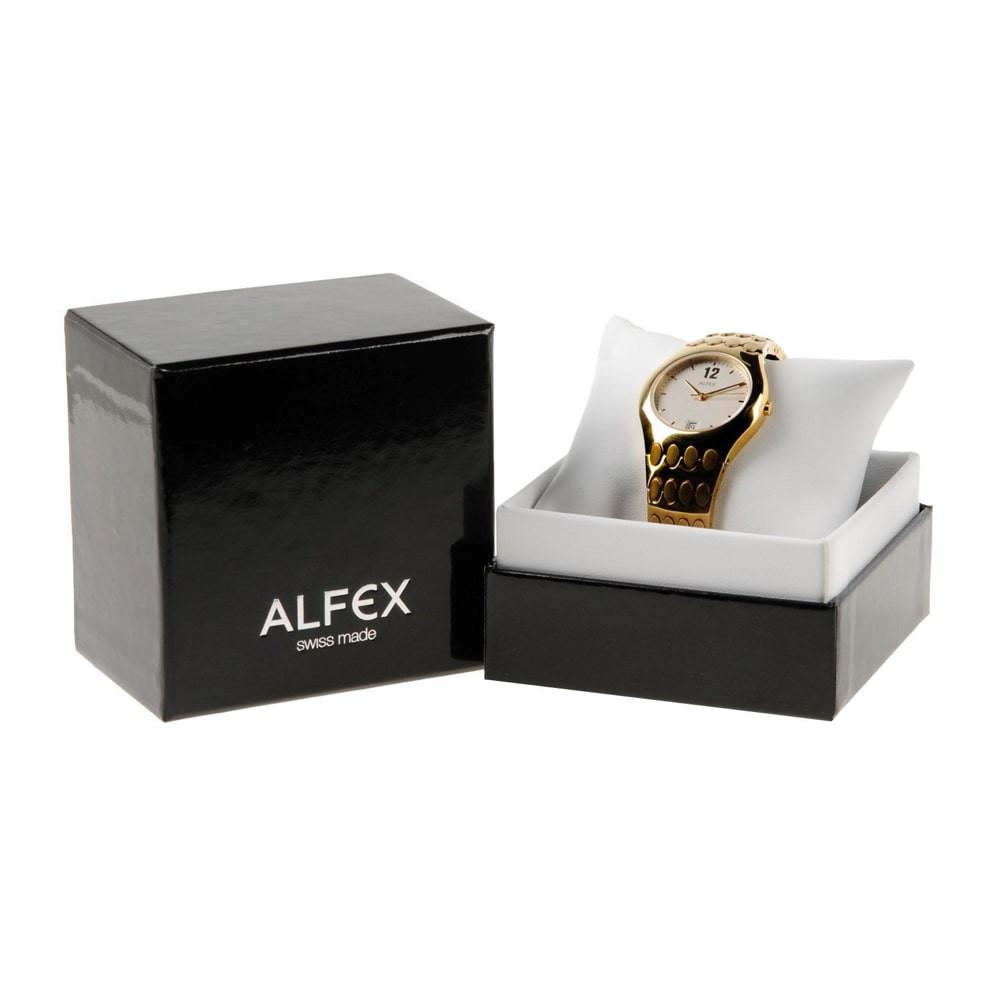 Đồng Hồ Thụy Sỹ Nữ ALFEX 5700/205 - Thời Trang Mặt Vuông 26mm