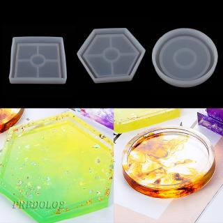 Silicone Resin Mold Square Jewelry Pendant Making Tool Mould Handmade Craft
