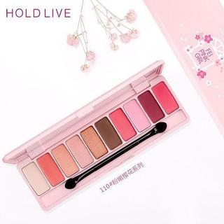 Phấn mắt Hold Live Feipink Girl Cherry Blossom Eyeshadow thumbnail
