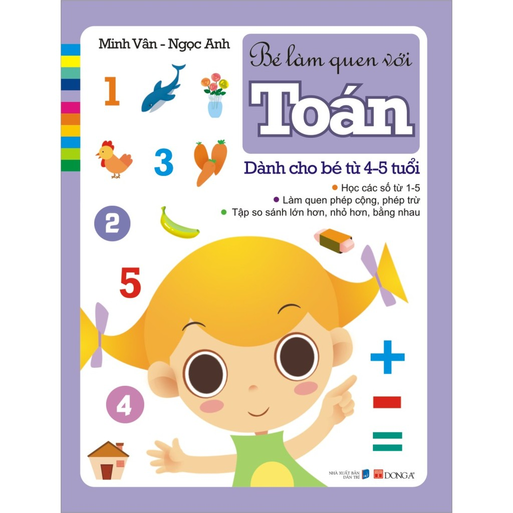 Bé làm quen với Toán - Dành cho các bé từ 4 - 5 tuổi