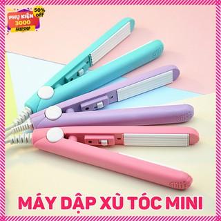 Máy dập xù tạo sóng, kẹp tạo xù tóc, tạo phồng máy mini dễ thương nhỏ gọn làm tóc tại nhà giá rẻ , tạo kiểu tóc ở nhà thumbnail