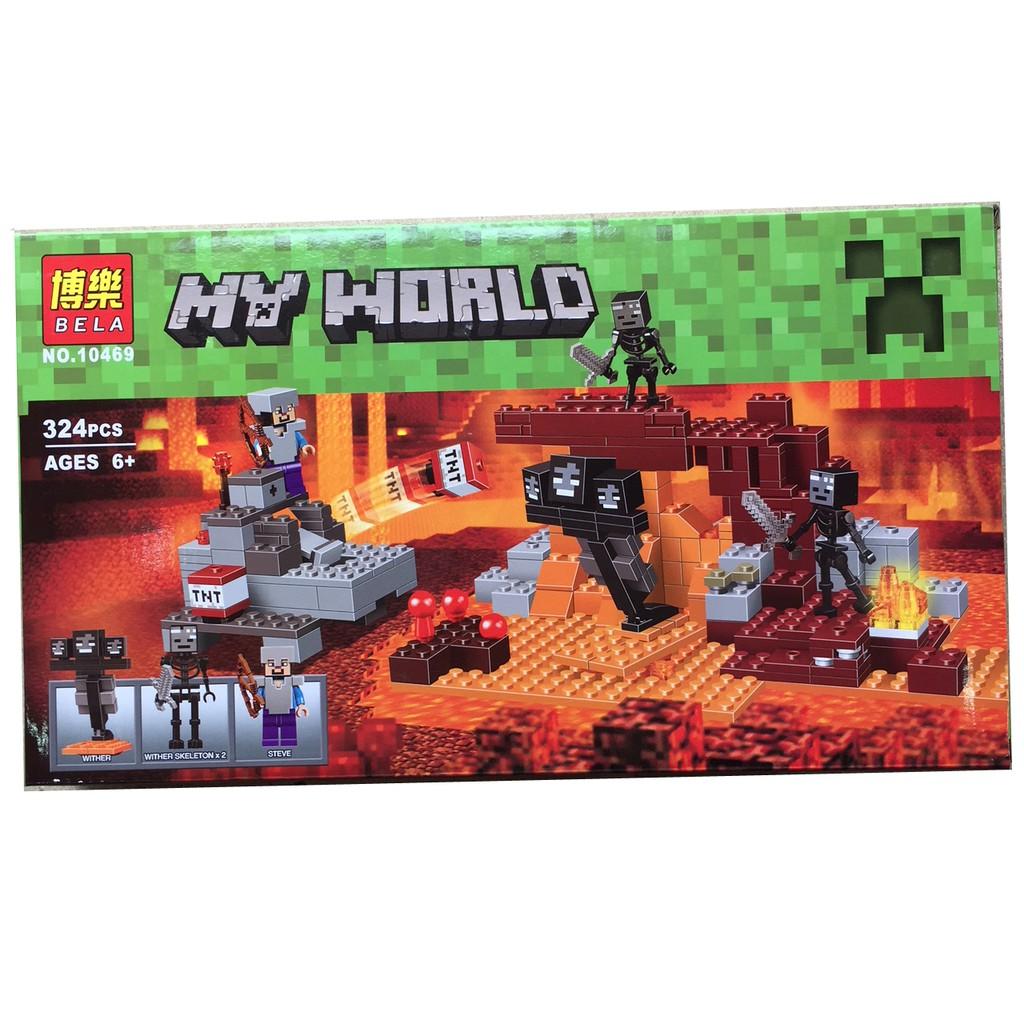 Lego xếp hình Lego My World MineCraft 10469 - 324 PCS