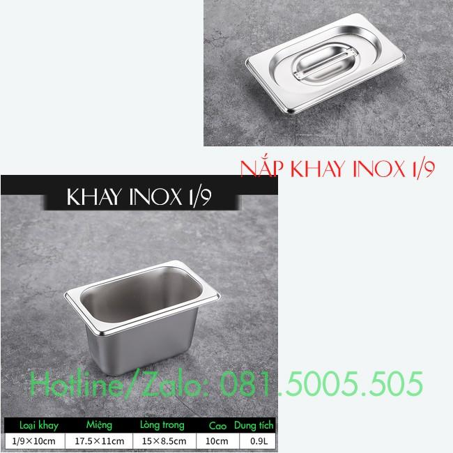 Khay đựng topping inox có nắp Khay đựng thạch Inox có nắp với đủ các size tự chọn