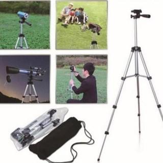 Yêu ThíchChân máy ảnh Tripod 3110 tặng Giá kẹp điện thoại, Remote bluetooth và Túi đựng I LOVE CASE [vthm9]
