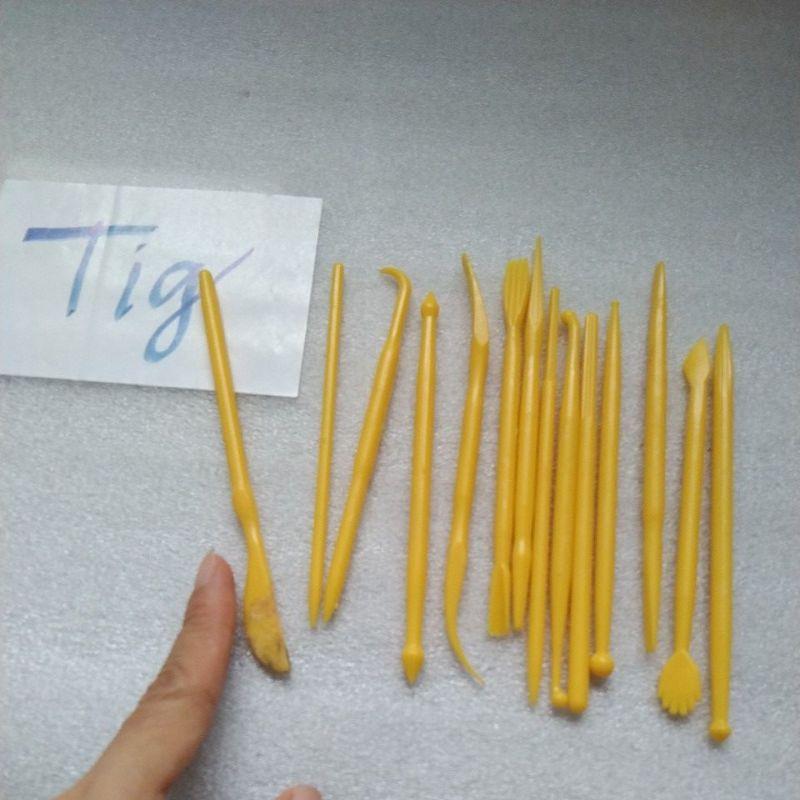 Bộ dụng cụ làm đồ chơi đất sét 14 món