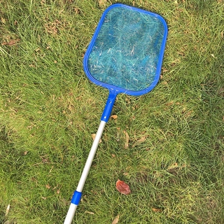 Adjustable Debris Pool Net Tools with 5 Section Poles Mesh Skimmer Portable Swimming Pool Accessories