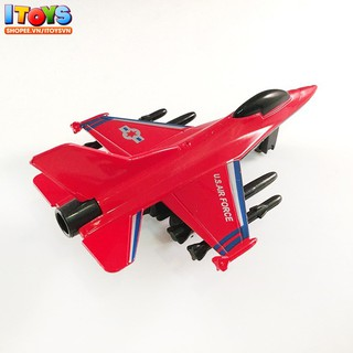 Máy bay chiến đấu, 11.5cm, mô hình máy bay phản lực cho trẻ em đồ chơi ITOYS