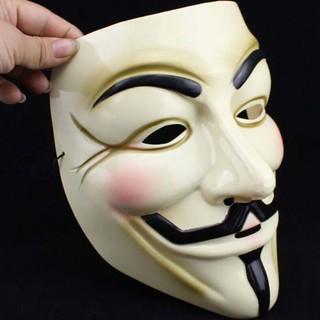 Mặt nạ hacker Anonymous có kẻ mắt màu vàng