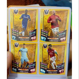 (thẻ in) Match attax leagend Ngoại hạng Anh