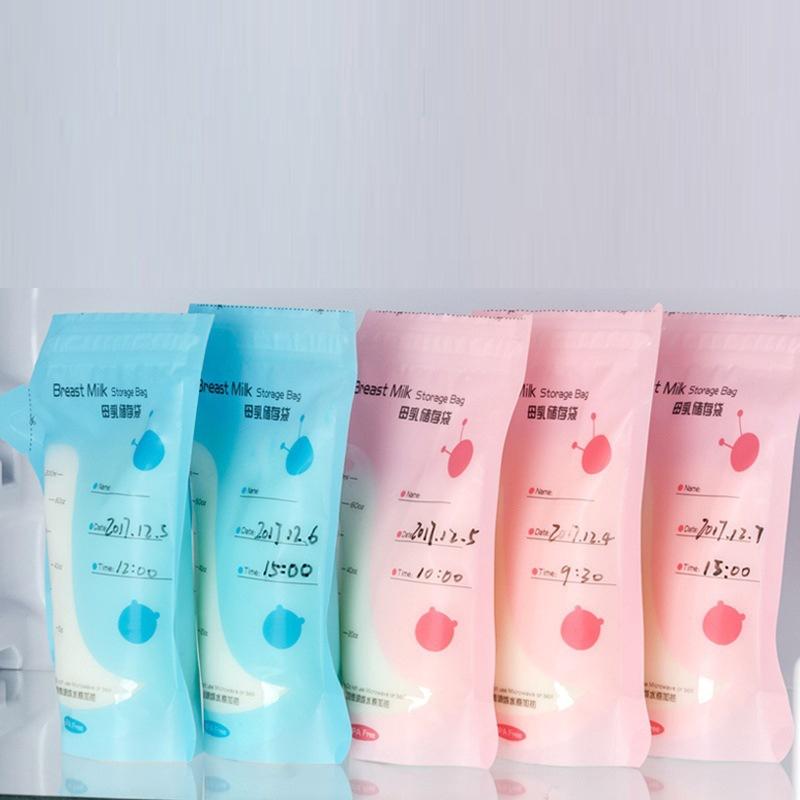 Set 30 Túi Đựng Bảo Quản Sữa Mẹ 200ml Tiện Dụng