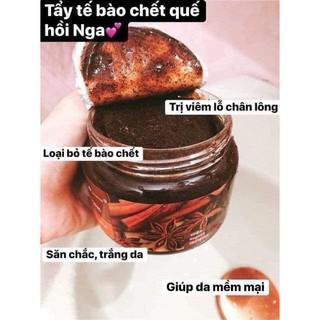 Tẩy Tế Bào Chết Toàn Thân Quế Hồi Coffee Cinnamon Cloves