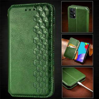 Luxury Leather Wallet Magnetic Flip case For Samsung Galaxy A32 A52 A72 Samsung Galaxy A01 CORE A7 2018 PU Leather Card Slot Phone Case With Stand Holder
