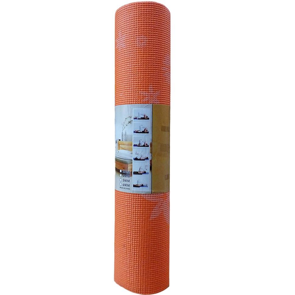 Thảm tập Yoga Đài Loan (cam)