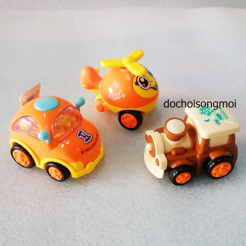 Combo 3 xe mô hình chạy đà