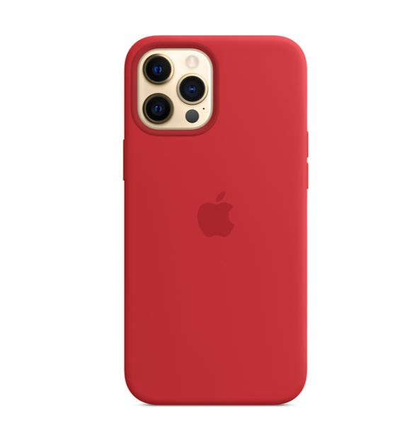 Ốp Điện Thoại Silicon Màu Đỏ Cho Iphone 12 Pro Max Iphone 12 / 12pro 12 Mini