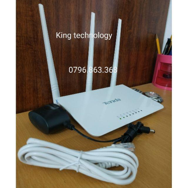 Bộ phát Wifi TENDA F3 Tốc độ 300Mbps-nhập khẩu THANH LÝ - TENDA F3
