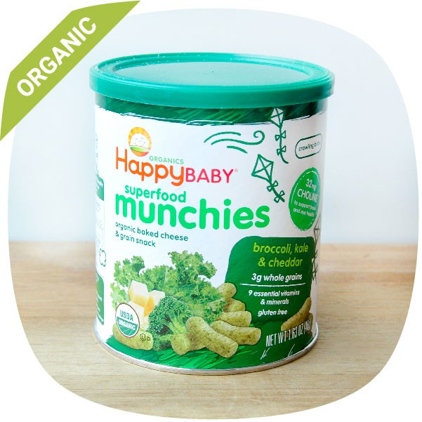 Bánh ăn dặm hữu cơ cho bé Happybaby vị phô mai, kale và bông cải xanh 46g - 2946422 , 1321913587 , 322_1321913587 , 110000 , Banh-an-dam-huu-co-cho-be-Happybaby-vi-pho-mai-kale-va-bong-cai-xanh-46g-322_1321913587 , shopee.vn , Bánh ăn dặm hữu cơ cho bé Happybaby vị phô mai, kale và bông cải xanh 46g