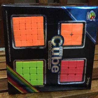 Rubik 4 cấp độ – cao cấp( trơn quay siêu nhẹ)