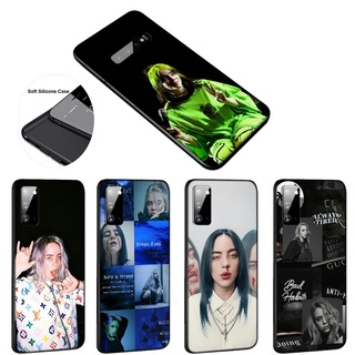 Ốp Điện Thoại Silicon Mềm Hình Billie Eilish EL18 Cho Samsung Galaxy A31 A02 M02 A12 A32 A52 A71 F62