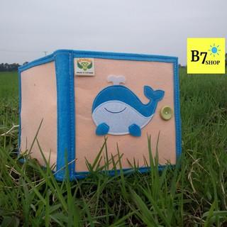 Đồ chơi giáo dục-Hàng Việt Nam xuất khẩu-Sách vải cho bé khám phá Đại dương– Dành cho bé mầm non từ 1 – 6 tuổi