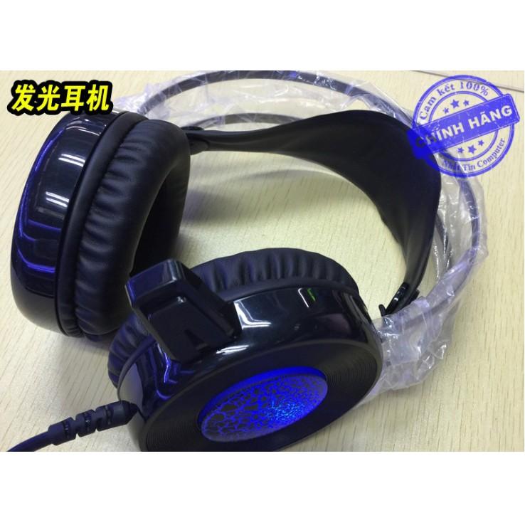 Tai nghe chuyên Game siêu trâu Qinlian A6 - Đèn led xanh