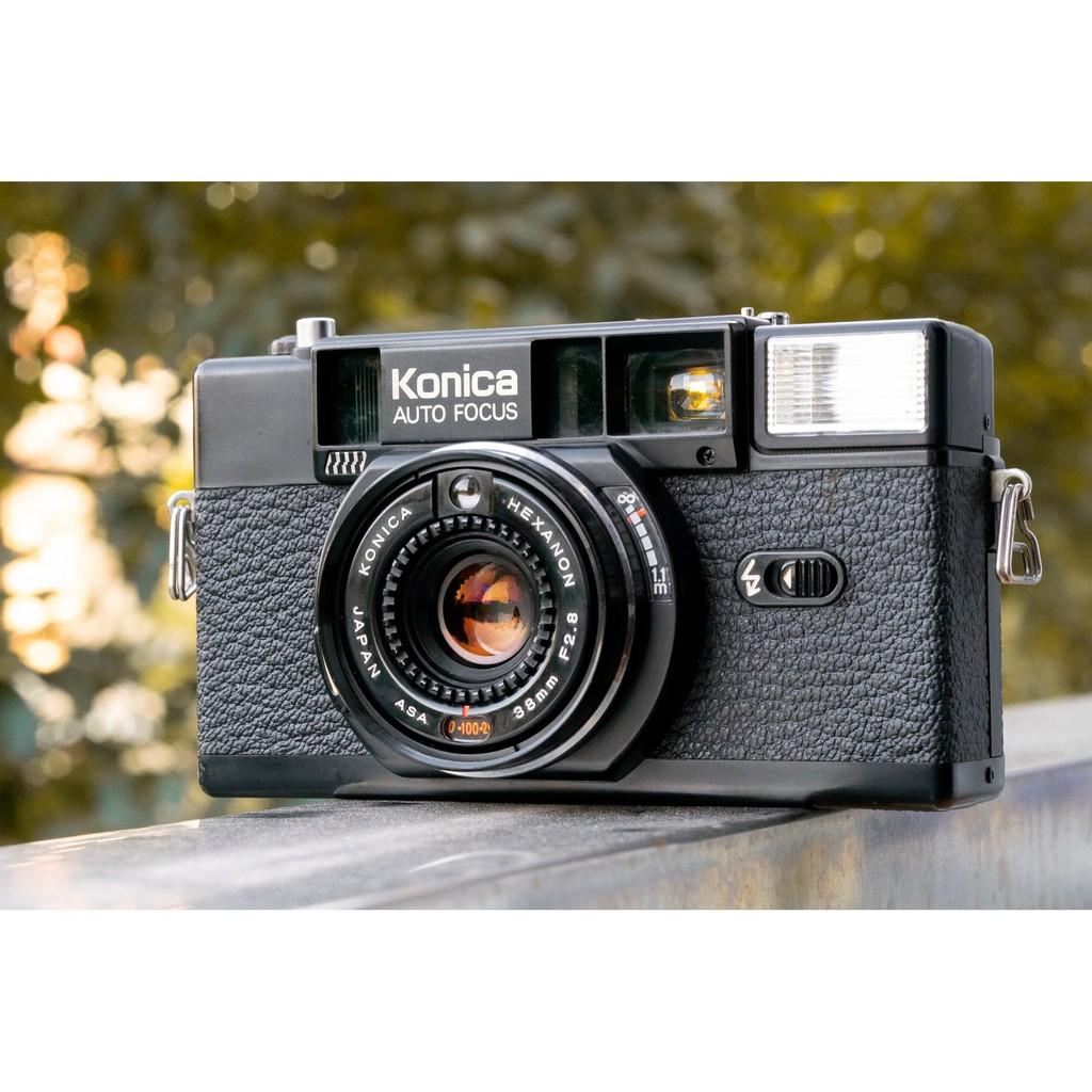 Máy ảnh film vintage Konica C35 AF2 cực đẹp