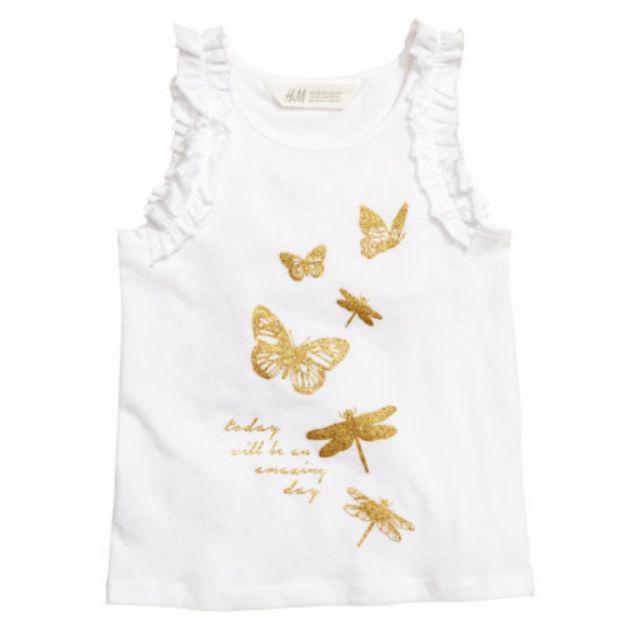 Áo bé gái HM chuẩn Mỹ bướm vàng - 2614322 , 323165835 , 322_323165835 , 105000 , Ao-be-gai-HM-chuan-My-buom-vang-322_323165835 , shopee.vn , Áo bé gái HM chuẩn Mỹ bướm vàng