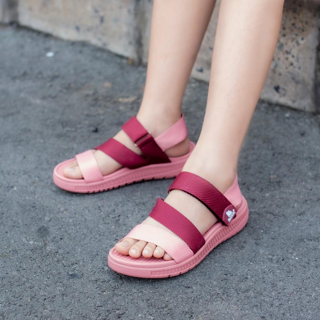 Giày sandal nữ Facota V1 Sport HA08 chính hãng sandal nữ quai dù sandal nữ đi học
