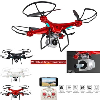 ✿✿Wide Angle Lens HD Camera Quadcopter RC Drone WiFi FPV Live Helicopter Hover