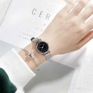 Đồng hồ thời trang nữ AKS06 dây thép nhuyễn tuyệt đẹp