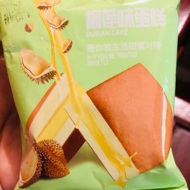 1kg Bánh bông lan sầu riêng
