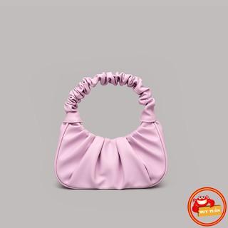 Túi kẹp nách - túi xách nữ da mềm quai nhúm HT908 trong bộ sưu tập túi xách thời trang 2021