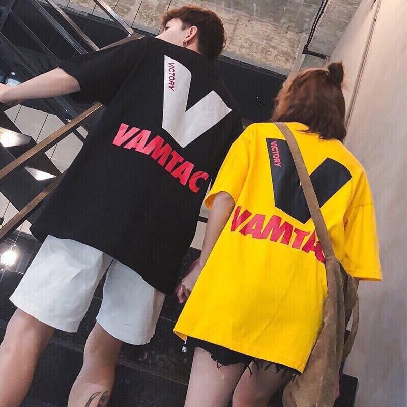 [Kèm hình thật] Áo tay lở V Vamtac Victory unisex