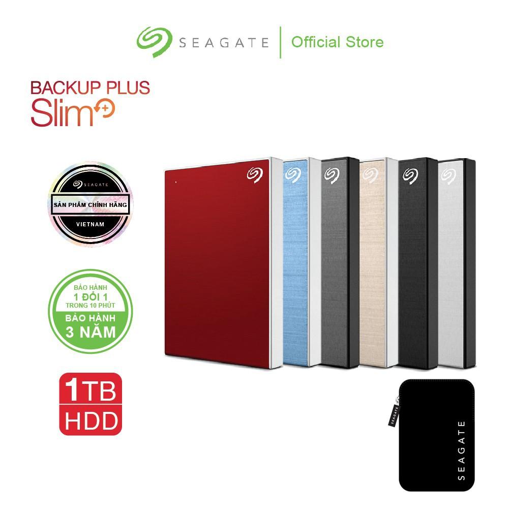 Ổ Cứng Di Động Seagate Backup Plus Slim 1TB_USB 3.0