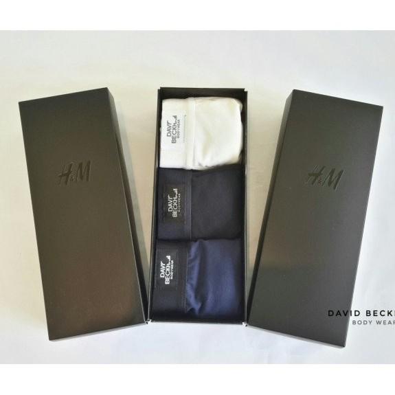 Hộp 3 quần sịp nam - quần lót David Beckam xuất khẩu